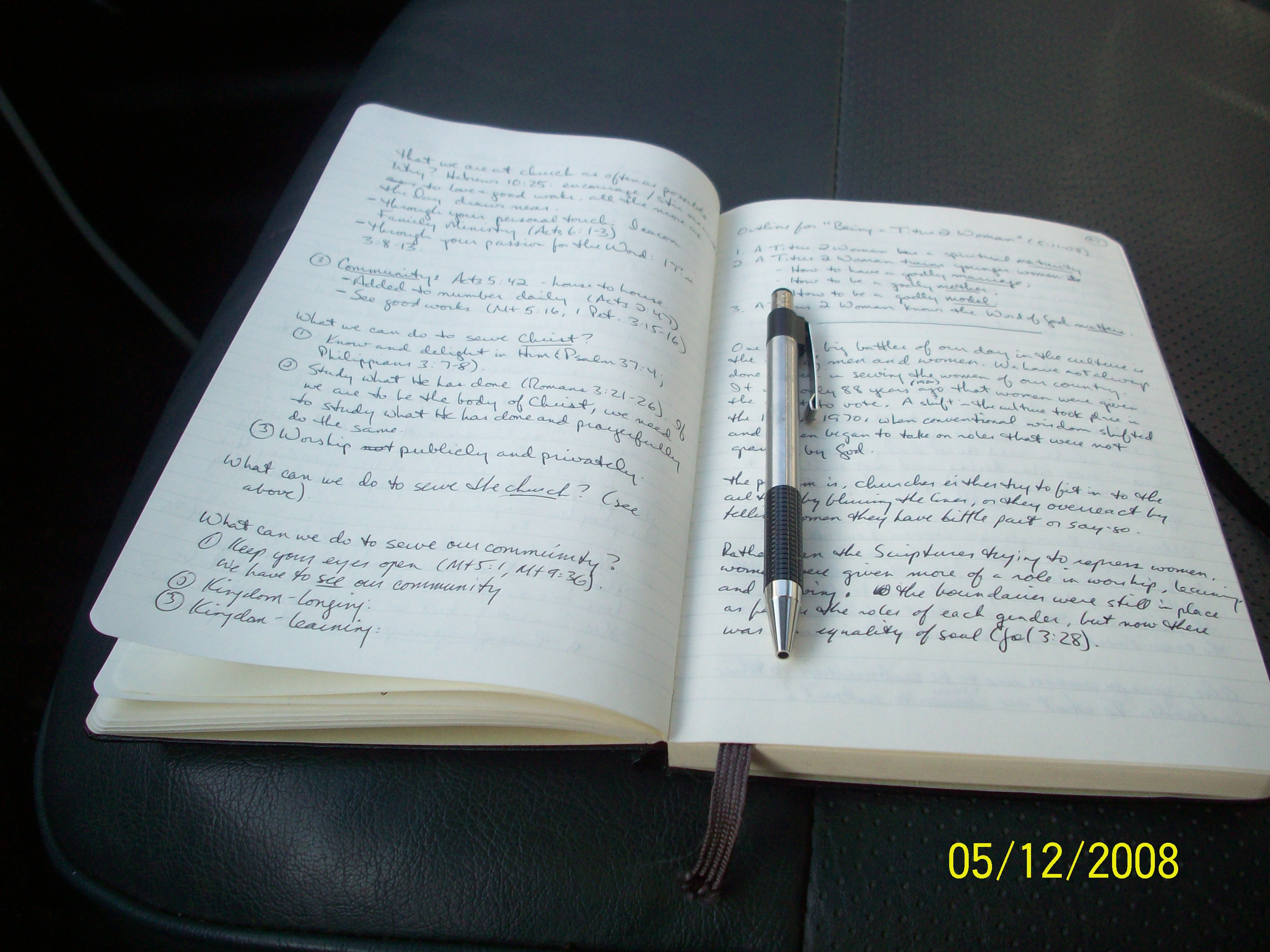 When Journaling Helps Your Preaching « Expositionalogistix